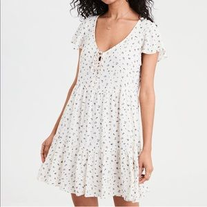 American Eagle Outfitters Dresses - AE TIERED BABYDOLL DRESS